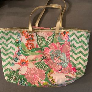 Lilly Pulitzer for Target Nosey Posey Weekend Bag